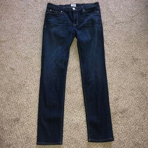 Hudson Collette Midrise Skinny Jeans 31